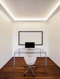 Modern office minimalist, interiors Royalty Free Stock Image