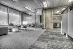 Modern office. New interior in modern office Royalty Free Stock Image