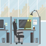 Modern office room. Royalty Free Stock Photo