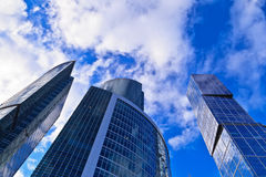 Modern office skyscrapers Royalty Free Stock Photography