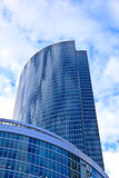 Modern office skyscrapers Stock Images