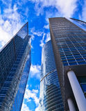 Modern office skyscrapers Stock Image