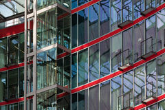 Modern Office Sony Center. A spectacular details of modern building, Sony Center in Berlin, Germany Stock Images