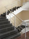 Modern office stairs Stock Images