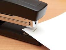 Modern office stapler Royalty Free Stock Images