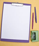 Modern Office Supplies Royalty Free Stock Images