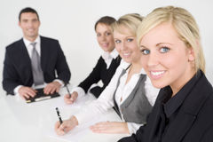 Modern Office Teamwork Stock Photography
