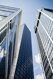 Modern office towers Royalty Free Stock Photos