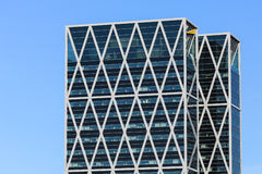 Modern office towers Royalty Free Stock Photography