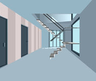 Modern office vector Stock Image