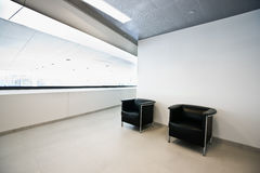 Modern office waiting area Stock Image