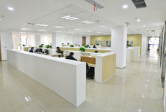 Modern office. Modern work office with busy people in Free Trade Area in Pu dong district, Shanghai, China Stock Images