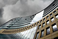 Modern offices. In Frankfurt, financial capital of Europe stock photography