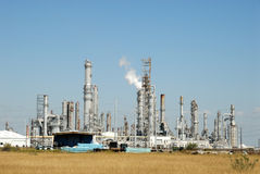 Modern oil refinery Royalty Free Stock Photography