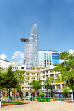 Modern and old buildings in downtown of Ho Chi Minh, Vietnam Stock Photography
