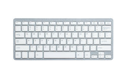 Modern omputer keyboard Stock Image