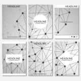 Modern ontwerp voor brochure, boekje, vlieger, dekking, jaarverslag Stock Illustratie