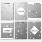 Modern ontwerp voor brochure, boekje, vlieger, dekking, jaarverslag Royalty-vrije Illustratie