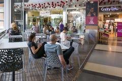 Modern openluchtwinkelcomplex in Israël Royalty-vrije Stock Fotografie