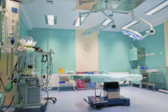 Modern Operating Room Stock Photo