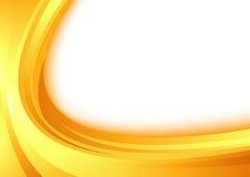 Modern orange border swoosh wave certificate Stock Images