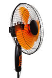 Modern orange fan Stock Photos