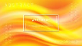 Modern orange liquid wave background. Dynamic abstract orange texture vector background. Eps10 vector illustration vector illustration