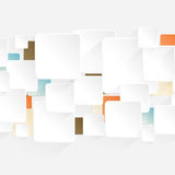 Modern Origami Arrow style options banner Royalty Free Stock Photo