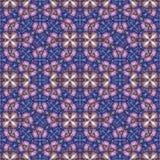 Modern Ornate Mosaic Seamless Pattern Stock Image