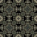 Modern Ornate Seamless Pattern Mosaic Royalty Free Stock Photos