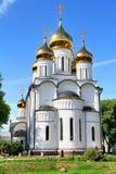 Modern orthodox church Stock Photos