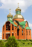 Modern orthodox church Royalty Free Stock Images