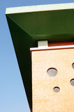 modern överkant för byggnader Arkivbilder