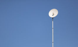 Modern outdoor wifi antenna installed by isp Stock Image