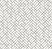 Modern outlined irregular geometric texture, stylish decorative Royalty Free Stock Images