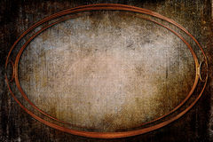 Modern Oval Frame on Background With Texture Royalty Free Stock Image