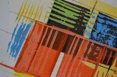 Modern painting, detail royalty free stock photo