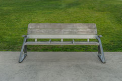 Modern Park Bench Royalty Free Stock Photography