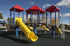 Modern Park Playground Royalty Free Stock Image