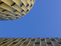 Modern parking building. De Cope in business area Papendorp, Utrecht, the Netherlands Royalty Free Stock Image