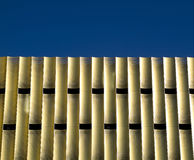 Modern parking building. Detail of modern parking building De Cope in business area Papendorp, Utrecht, the Netherlands Royalty Free Stock Images