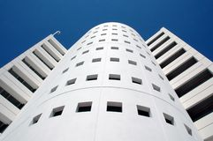 Modern Parking Structure Royalty Free Stock Image