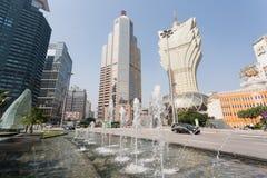 Modern part of Macau Stock Photography