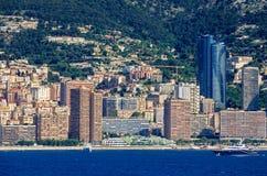 Modern part of Monaco Stock Photos
