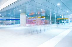 Modern passage at the station. A Modern passage at the station Royalty Free Stock Photo