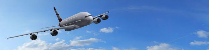 modern passagerare för flygplan Arkivfoton