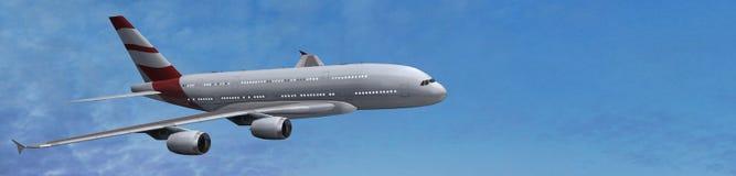 modern passagerare för flygplan Royaltyfri Foto