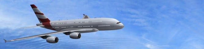 modern passagerare för flygplan Royaltyfri Bild