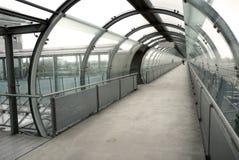 Modern passageway Royalty Free Stock Image