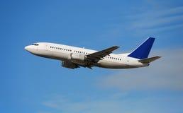 Modern passenger jet Stock Image